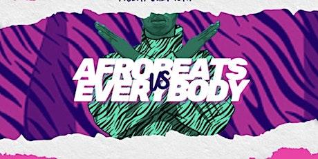 AFRO HITS & CARIBBEAN SATURDAYS tickets