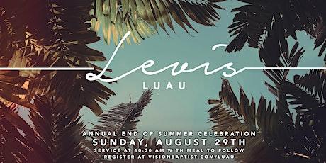 Levi's Luau tickets