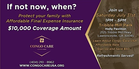 Congo Care Official Launch! tickets