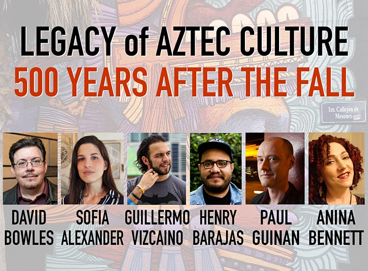 Comic-Con Livestream - Legacy of Aztec Culture (panel with Q&A) image