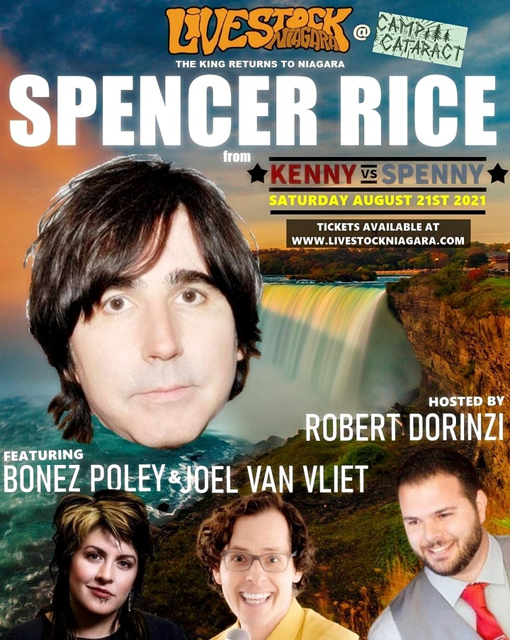SPENCER RICE (from KENNY VS SPENNY) LIVE in Niagara Falls image