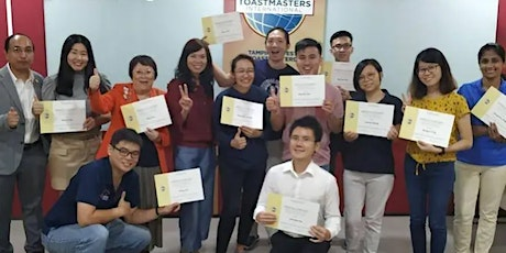 Practicing Public Speaking /Tampines West Toastmasters Zoom Chapter Meeting tickets