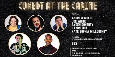Comedy @ The Carine - NY Events tickets