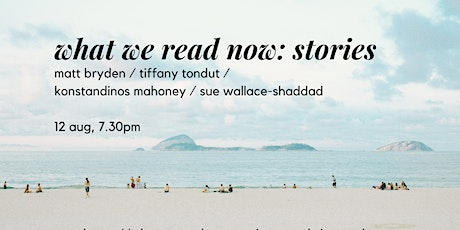 What we read now poetry reading - stories tickets