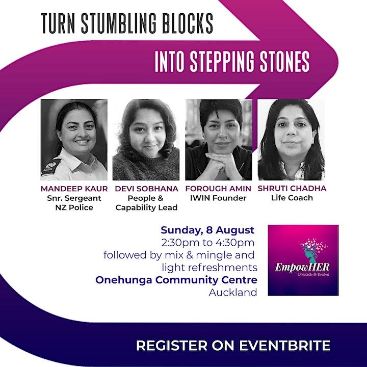 Turn Stumbling Blocks into Stepping Stones image