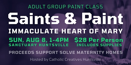 Saints & Paint - Immaculate Heart tickets