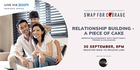 Relationship building- A piece of cake tickets