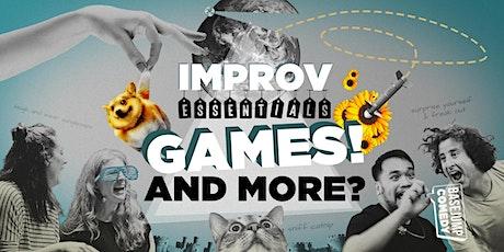 Basejump Comedy | Improv Essentials: Games! tickets