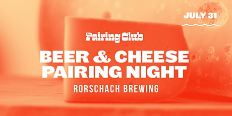 Beer & Cheese Pairing Night - ft. Rorschach Brewing tickets