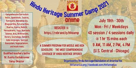 Hindu Heritage Summer Camp 2021 (Online) tickets