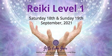 Reiki Level 1 Workshop, Hobart tickets