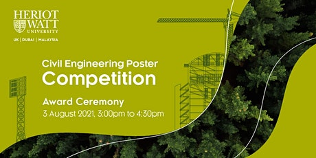 Civil Engineering Poster Competition Award Ceremony tickets