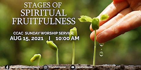 CCAC Worship Service | Aug 15 | 10 AM tickets