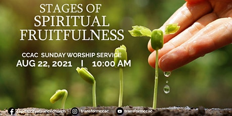 CCAC Worship Service | Aug 22 | 10 AM tickets