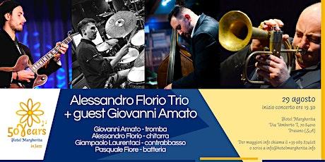 """Hotel Margherita in Jazz"" - Alessandro Florio Trio + guest Giovanni Amato tickets"