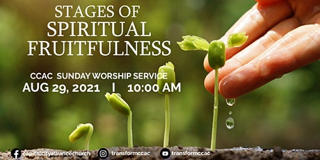 CCAC Worship Service | Aug 29 | 10 AM tickets