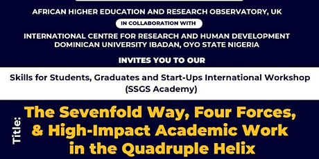 The Sevenfold Way, Four Forces, and High-Impact Corporate Academic Work tickets