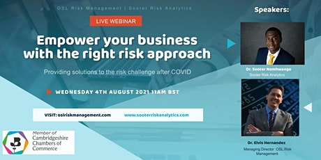 Empowering your business with the right risk approach tickets