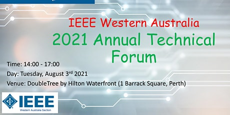 IEEE WA Section 2021 Annual Technical Forum tickets