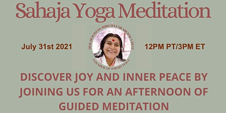 Free Online Guided Meditation to Discover Joy and Inner Peace tickets