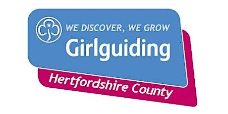 Girlguiding Hertfordshire 1st Response Course tickets