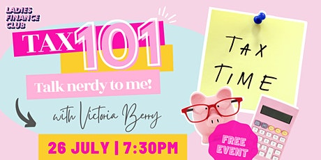 Tax 101 - Ask your tax questions! tickets
