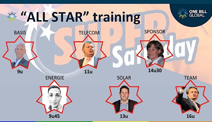 Afbeelding van Super Saturday All Star- Module 6-Rekruteren