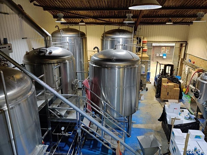 Free Sat brewery tour until 31st  August image