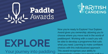 British Canoe Paddle Explore Course for BCYC Members tickets