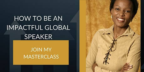 How to be an impactful global speaker Tickets
