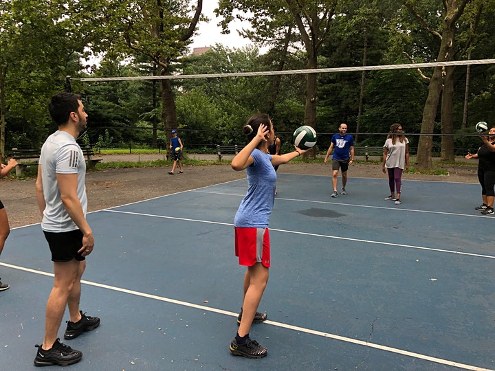 Volleyball Learning, and Practice at Central Park image