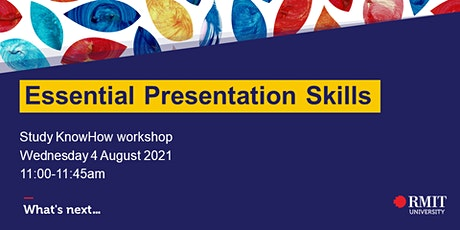Essential Presentation Skills billets