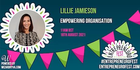 Empowering Organisation tickets