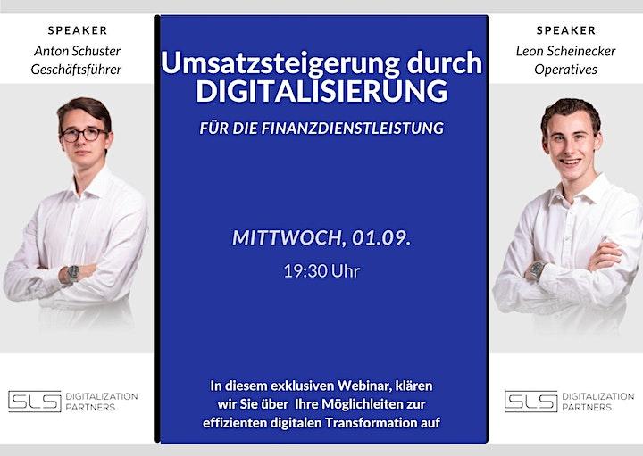 Mehrumsatz in der Finanzdienstleistung durch Digitalisierungsmaßnahmen: Bild