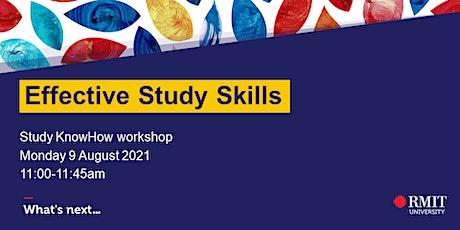 Effective Study Skills tickets