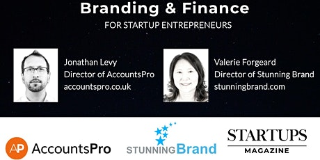 Branding and Finance Webinar for Startup Founders tickets