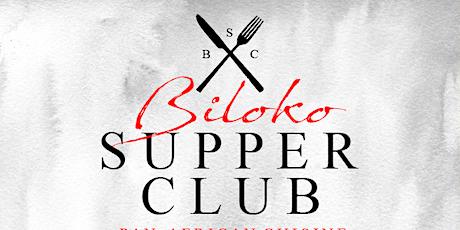 Biloko Supper Club tickets