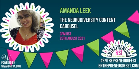 The neurodiversity content carousel tickets