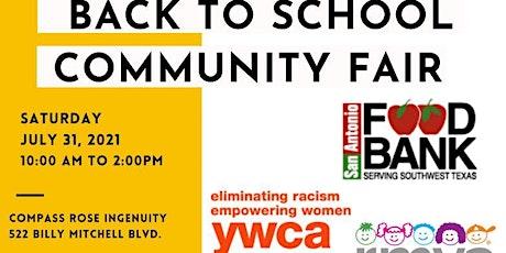 Back to School Community Fair tickets