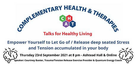 Empower Yourself to Let Go of/ Release deep seated Stress and Tension tickets