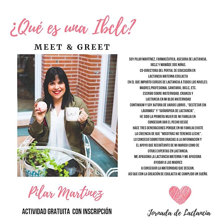 Imagen de Meet & Greet con Pilar Martinez-¿Qué es una IBCLC?