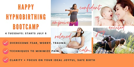HAPPY HYPNOBIRTHING Bootcamp: October 2021 LIVE ON ZOOM tickets
