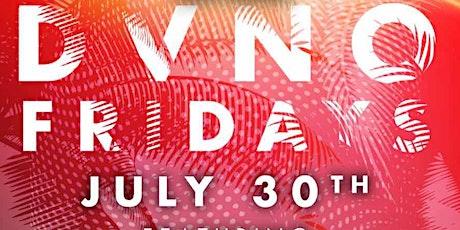 DVNO FRIDAYS w/ CRW Ent tickets