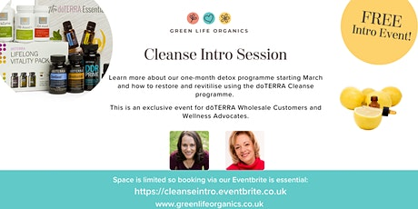 Cleanse & Restore Intro Session tickets