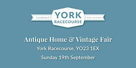 Antique Home & Vintage Fair- York Racecourse tickets