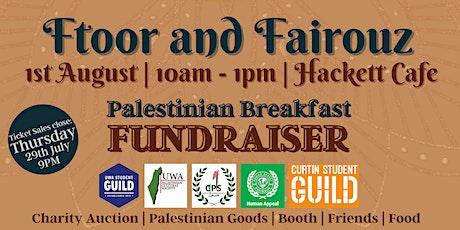 Ftoor and Fairouz: Palestinian Breakfast Fundraiser tickets