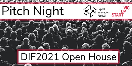 Pitch Night: DIF2021 Open House tickets