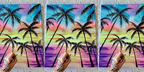 Palm Trees: Season Mariner with Artist Katie Detrich! tickets
