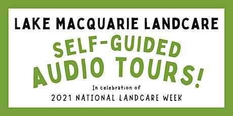 Lake Macquarie Landcare self-guided audio tours! billets
