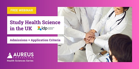 Study Health Science in the UK tickets